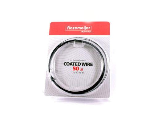 Rozemeijer Coated Wire 50lb 4.5mtr