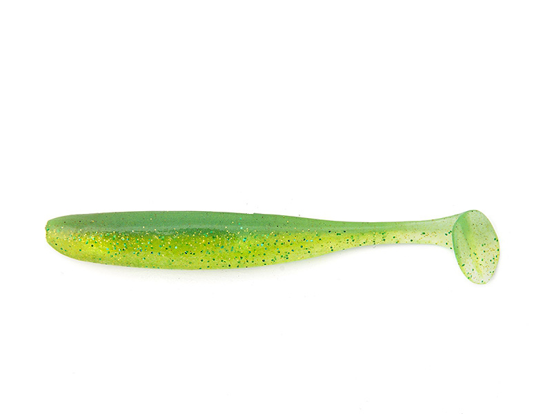 """Keitech Easy Shiner 3.5"""" Lime Chartreuse 8.89cm"""