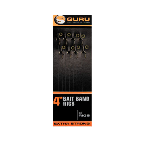Guru Bait Band Rigs 4'' 0.22mm #12