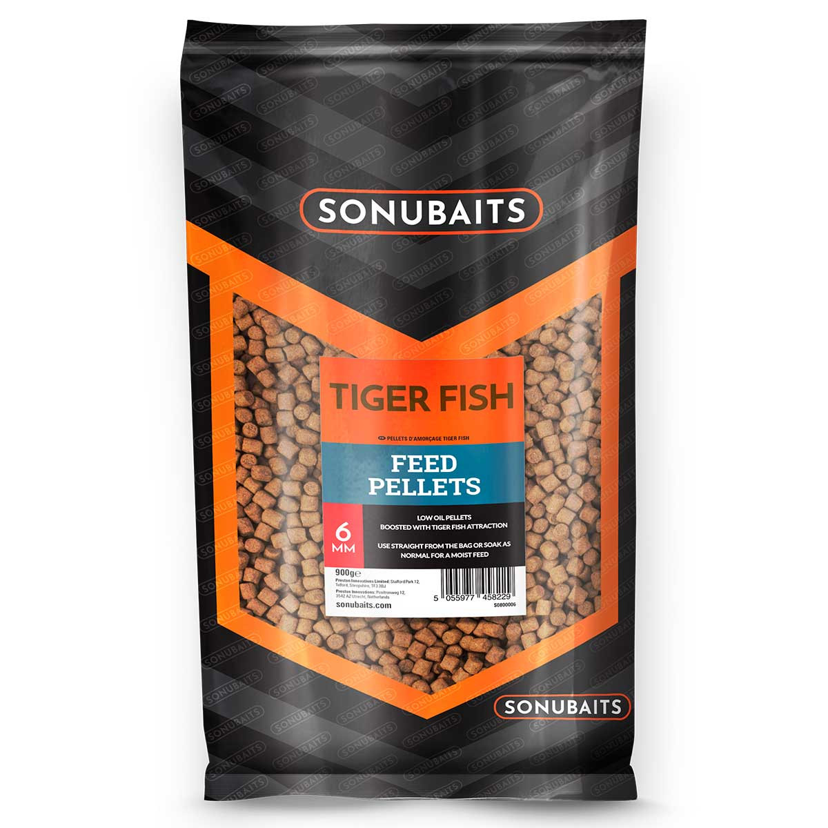 Sonubaits Tiger Fish Feed Pellets 6mm