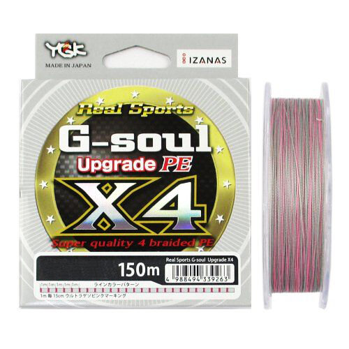 YGK G-Soul X4 Upgrade PE0.6 0.11mm