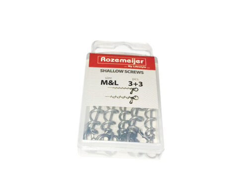 Rozemeijer Shallow Screws M&L Incl Spiltrings
