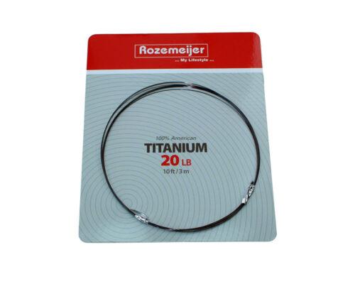 Rozemeijer USA Titanium 30lb 3mtr