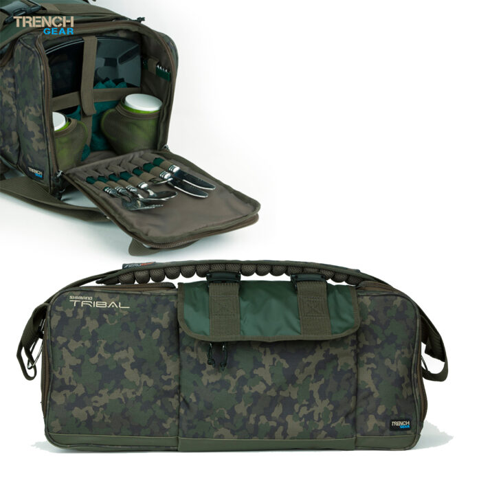 Shimano Trench Deluxe Food Bag Incl. Aero Qvr Advanced Strap