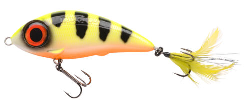 Spro Iris Fatboy 85 Hot Perch 8,5cm - 24gr