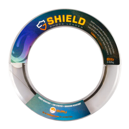 Guru Shield Shock Leader 8LB 0.28mm