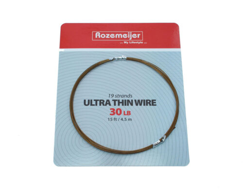 Rozemeijer 19 Strands Ultra Thin Wire 30lb 4.5m