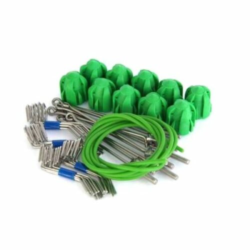 Gemini STD Grip Assembly Kit Short Tail Green