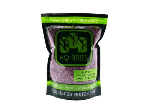 CBB HQ Baits Nutty Fruit Blend Pellet 3mm 1kg