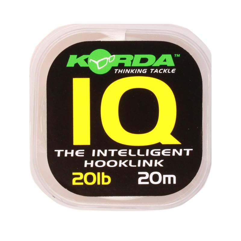 KIQ20 Korda IQ Hooklink 20lb 20m