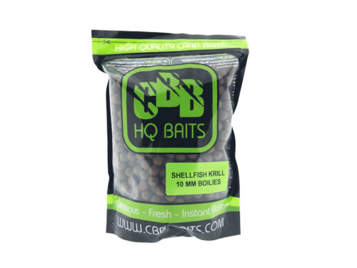 CBB HQ Baits Shellfish Krill 10mm Boilie 1kg