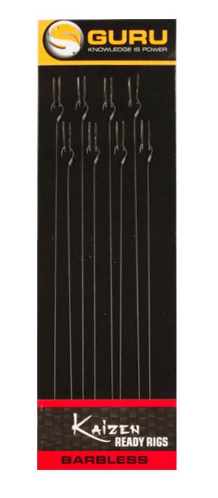 Guru Kaizen Pole Rigs Barbless 15cm 0.11mm #20