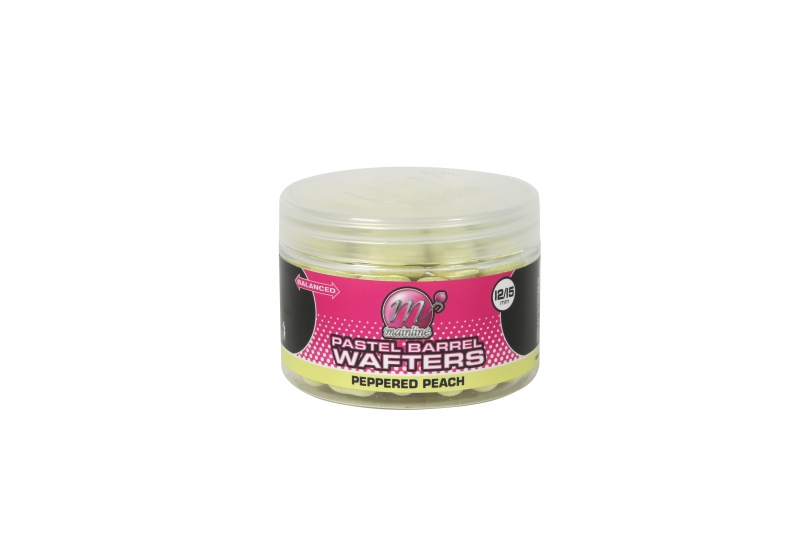 Mainline Pastel Wafter Barrels Peppered Peach 12/15mm