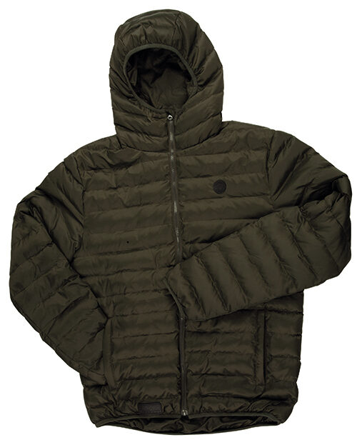 Fox Chunk Quilted Jacket Olive M