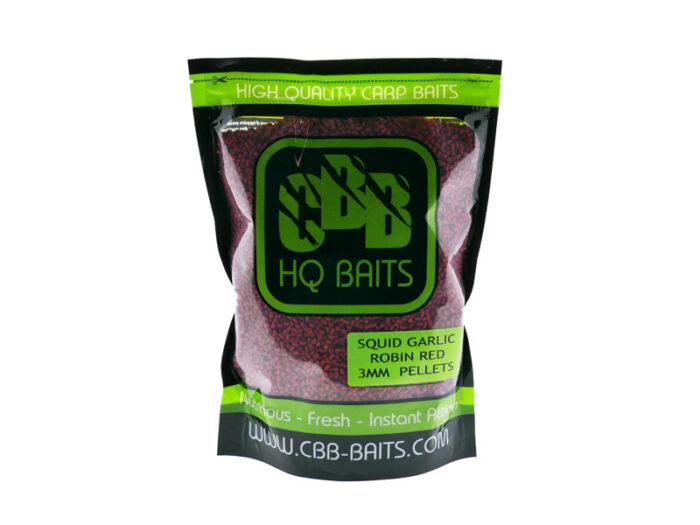 CBB HQ Baits Squid Garlic RR Pellet 3mm 1kg