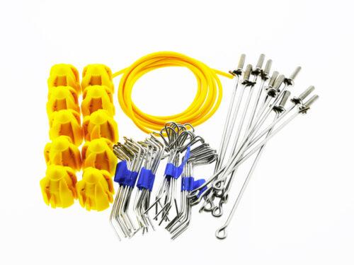 Gemini STD Grip Assembly Kit Short Tail Yellow