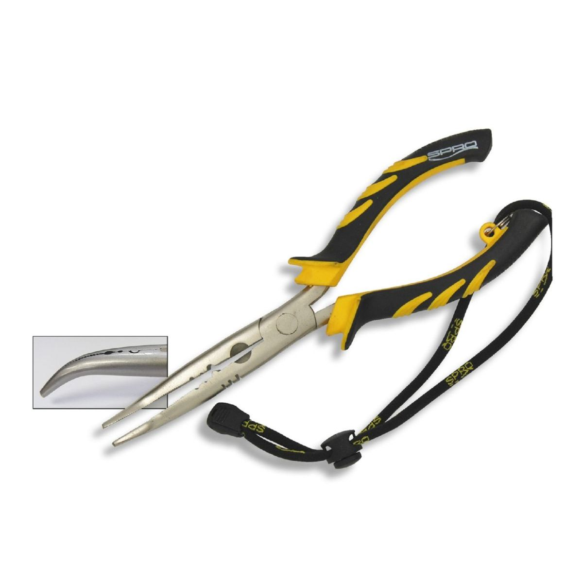 Spro Bent Long Nose Pliers 23