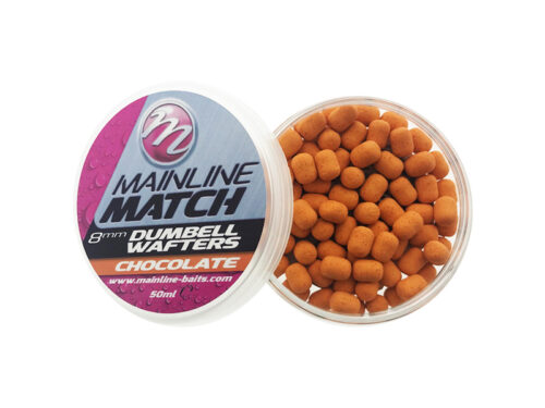 Mainline Match Dumbell Wafter 8mm Chocolate