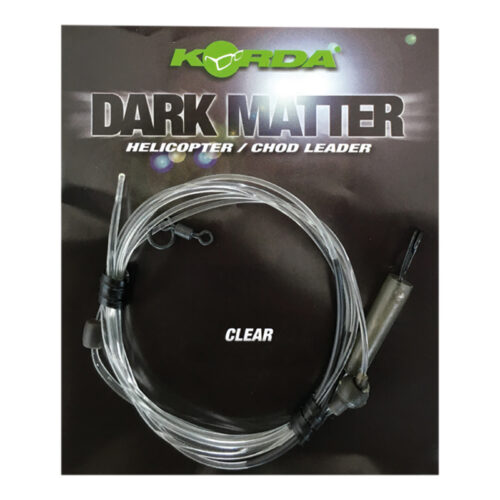 KSZ49 Korda Dark Matter Heli/Chod Leader Clear 40 lbs