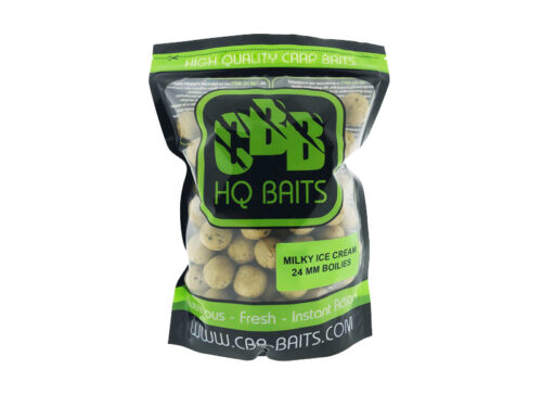 CBB HQ Baits Milky Ice Cream 24mm Boilie 1kg