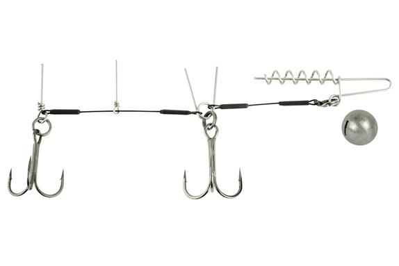 Spro Spiral Stinger Rig 13cm 14gr #1 & #1/0