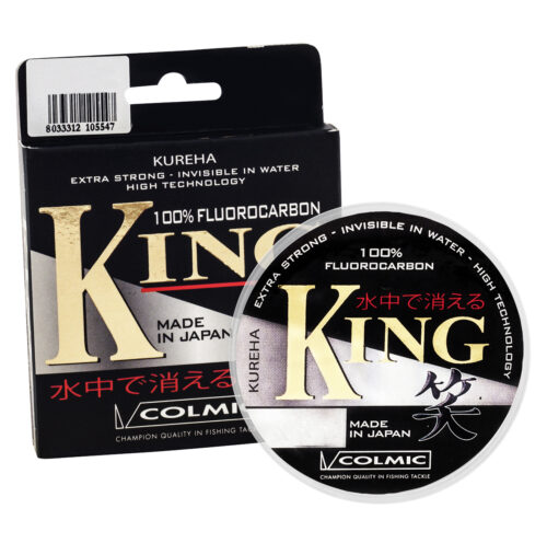 COLMIC FLUOROCARBON KING 50m - 0,115mm - 1,400kg