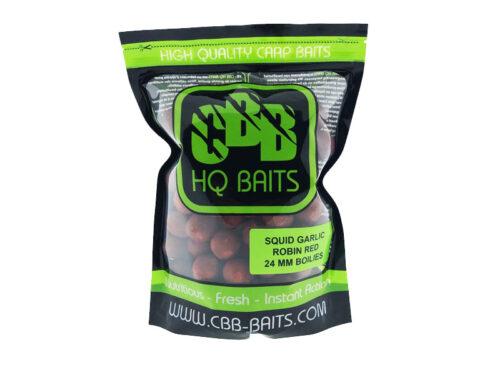 CBB HQ Baits Squid Garlic Robin Red 24mm 1kg