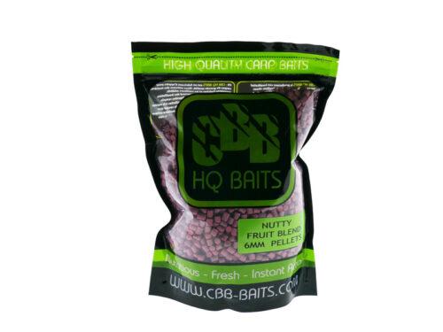 CBB HQ Baits Nutty Fruit Blend Pellet 6mm 1kg