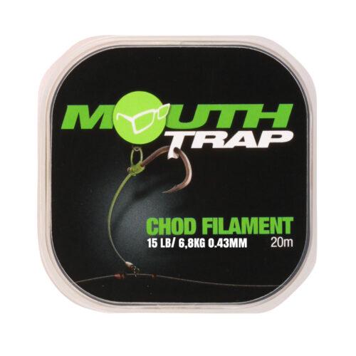 KMT15 Korda Mouth Trap 15lb 6.8kg 0.43mm 20m