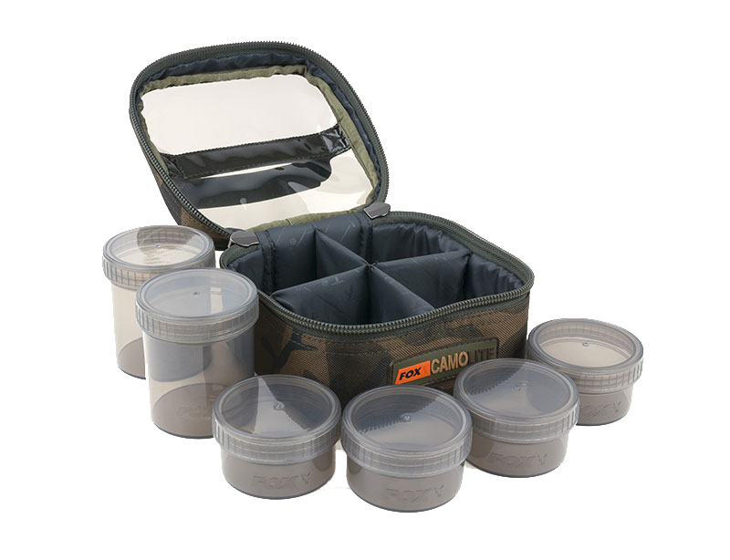 Fox Camolite Glug 6 Pot Case