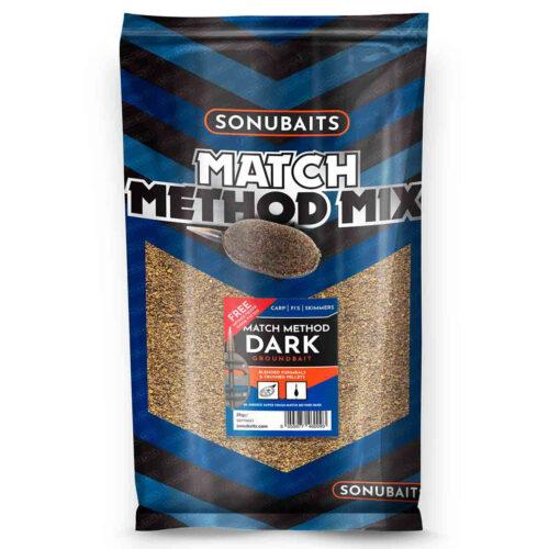 Sonubaits Groundbaits Match Method Mix Dark 2kg