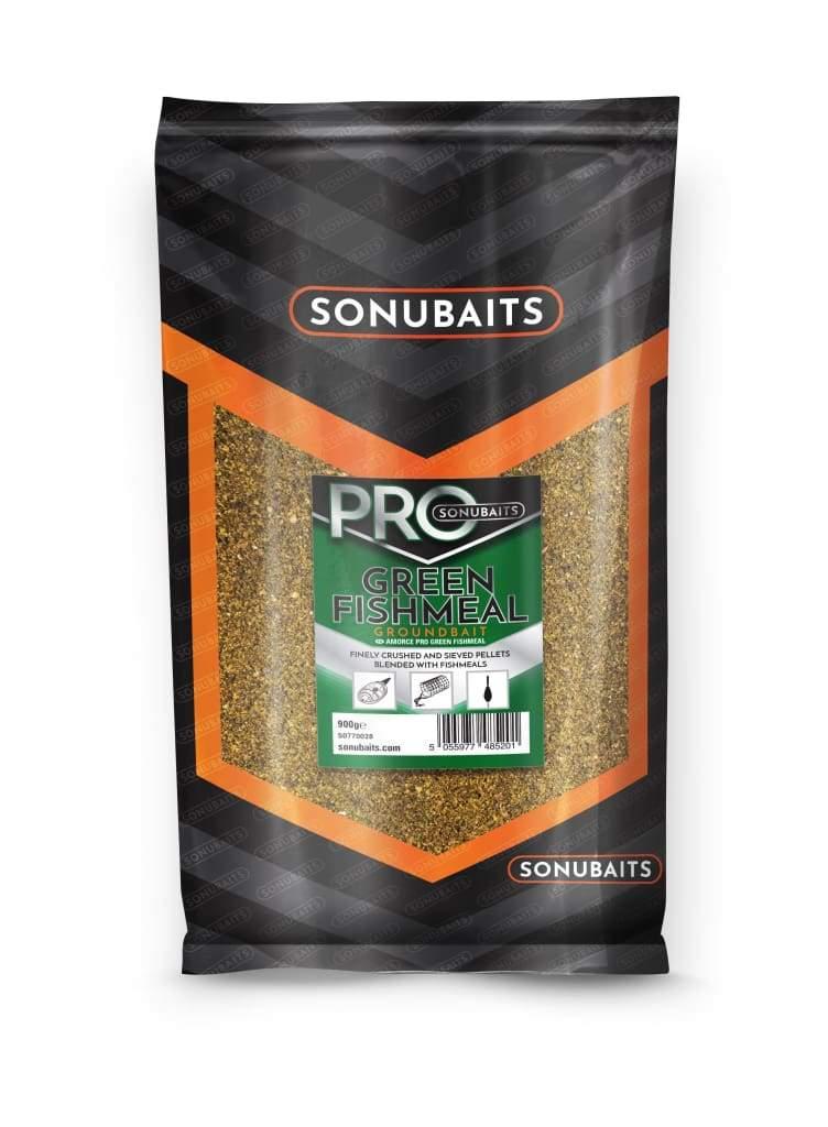 Sonubaits Pro Green Fishmeal Groundbait 900gr