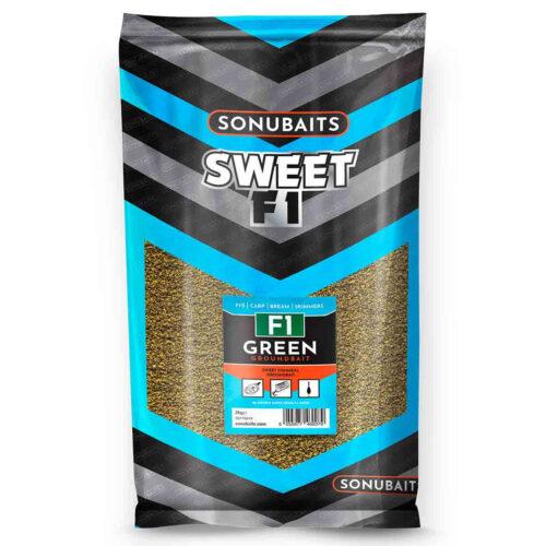 Sonubaits F1 Green Supercrush Groundbait 2kg