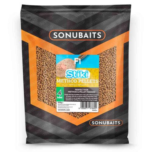Sonubaits F1 Stiki Method Pellets 4mm - 650gr