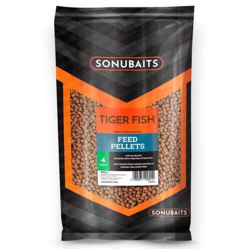 Sonubaits Tiger Fish Feed Pellets 4mm - 900gr