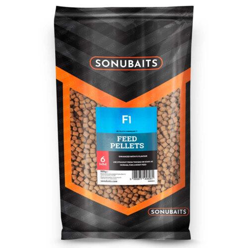Sonubaits F1 Feed Pellet 6mm - 900gr