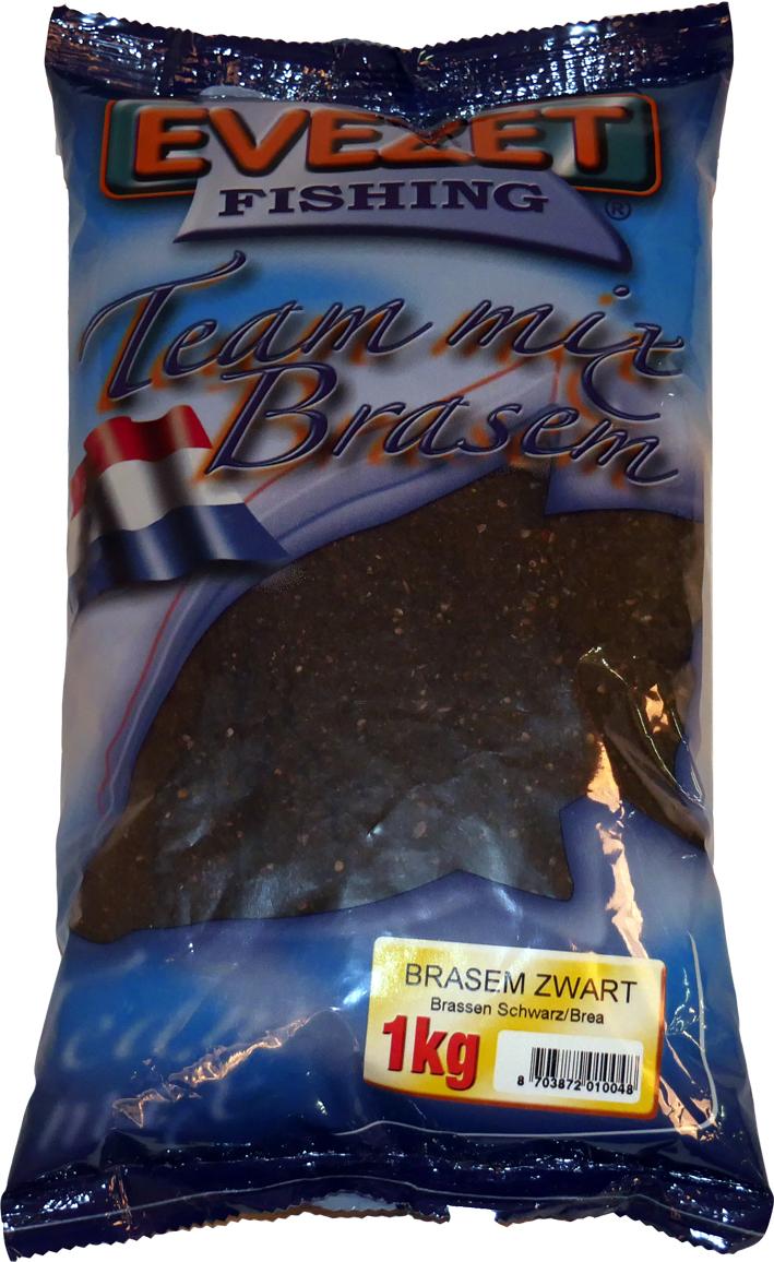 Evezet Teammix Brasem Zwart 1kg