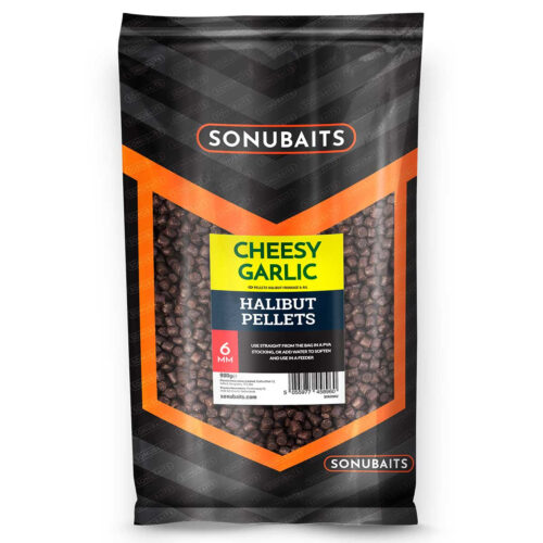 Sonubaits Cheesy Garlic Halibut Pellet 6mm - 900gr