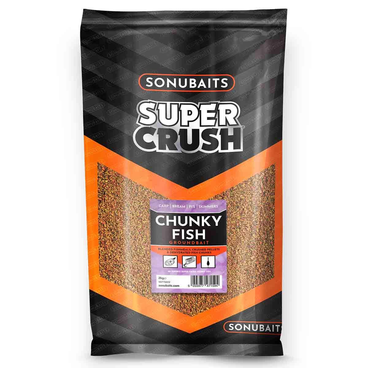 Sonubaits Super Crush Chunky Fish 2kg