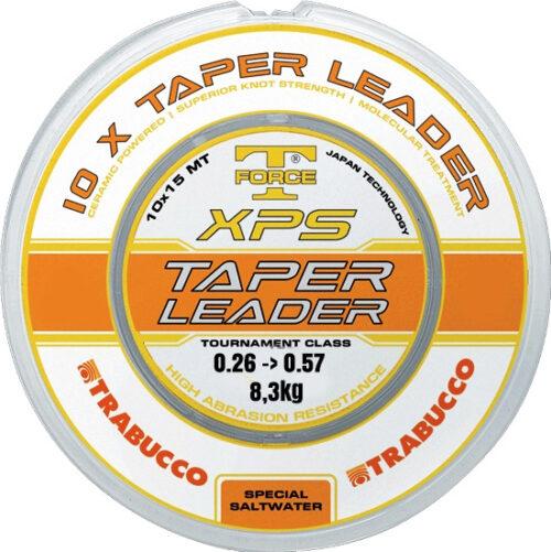 Trabucco Taper Leader 0.26 - 0.57 10x15 mtr