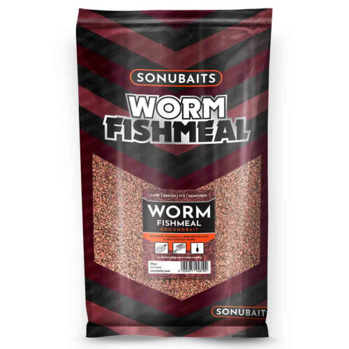 Sonubaits Groundbait Worm Fishmeal 2kg
