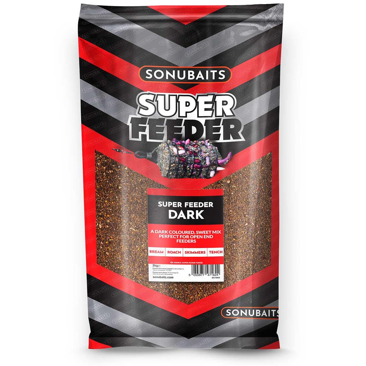 Sonubaits Super Feeder Dark 2kg
