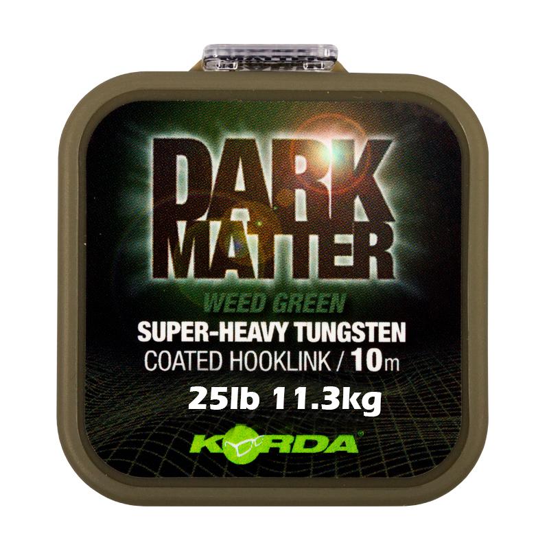 Korda Dark Matter Coated Hooklink Weed Green 25lb