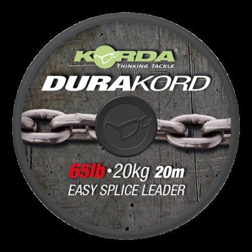 Korda Durakord Super Tough Leader 65 lb 15mtr