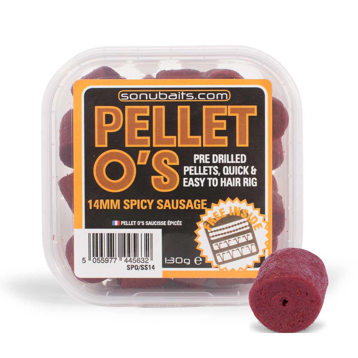 Sonubaits Pellet O's Spicy Sausage 14mm