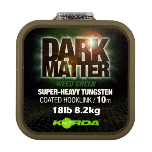Korda Dark Matter Coated Hooklink Weed Green 18lb