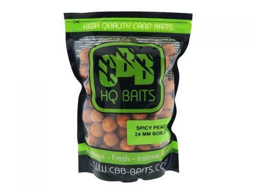 CBB HQ Baits Spicy Peach 24mm Boilie 1kg