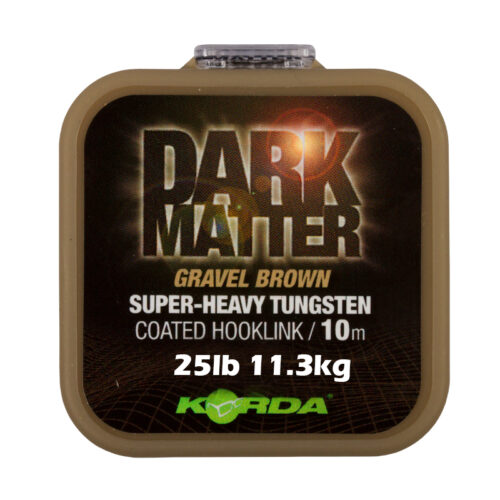 Korda Dark Matter Coated Hooklink Gravel Brown 25lb