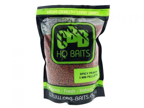 CBB HQ Baits Spicy Peach RR Pellet 3mm 1kg