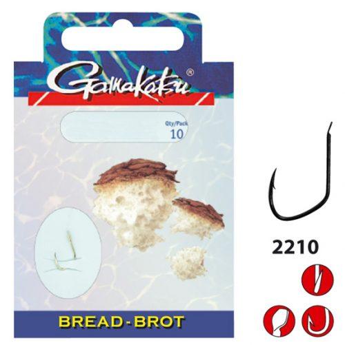 Gamakatsu BREAD 2210G - Lijn lengte 75 cm